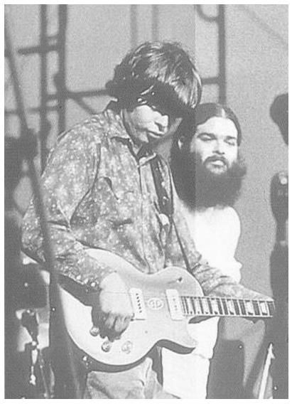 "Alan Wilson and Bob Hite of ""Canned Heat""."