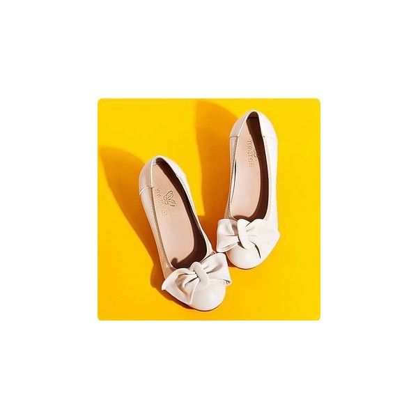 Bow Wedge Pumps (1,170 INR) ❤ liked on Polyvore featuring shoes, pumps, footware, bow wedges shoes, white wedge heel shoes, white wedge shoes, bow pumps and white pumps