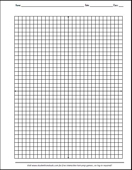 Free Printable X-Y Axis Graphing Paper | Math graphic ...Printable Graph Paper With Axis