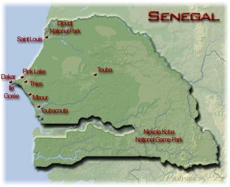 Touba Senegal | Touba Senegal Map