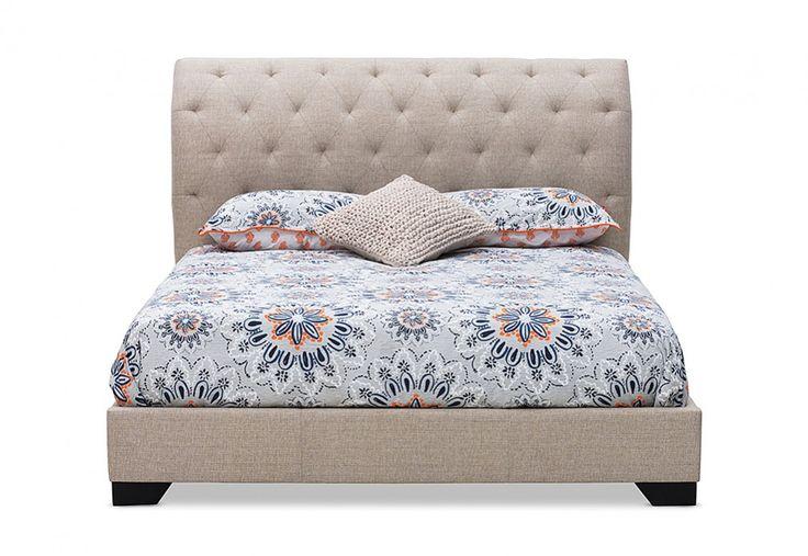 Caitlin Queen Bed | Super Amart