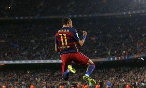 Neymar Barcelona v Rayo Vallecano