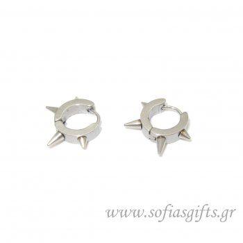 Ανδρικό σκουλαρίκι καρφιά #ανδρικά #σκουλαρικια #andrika #skoularikia #kosmhmata #κοσμηματα