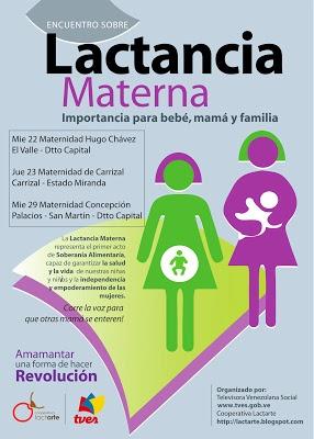 Lactarte y TVES sale a las Maternidades a Promover una sociedad amorosa, solidaria, amante de la paz.