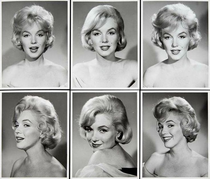 """""""Some rare Marilyn Monroe headshots, around the time of Let's Make Love, 1960 #marilynmonroe #marilyn"""""""