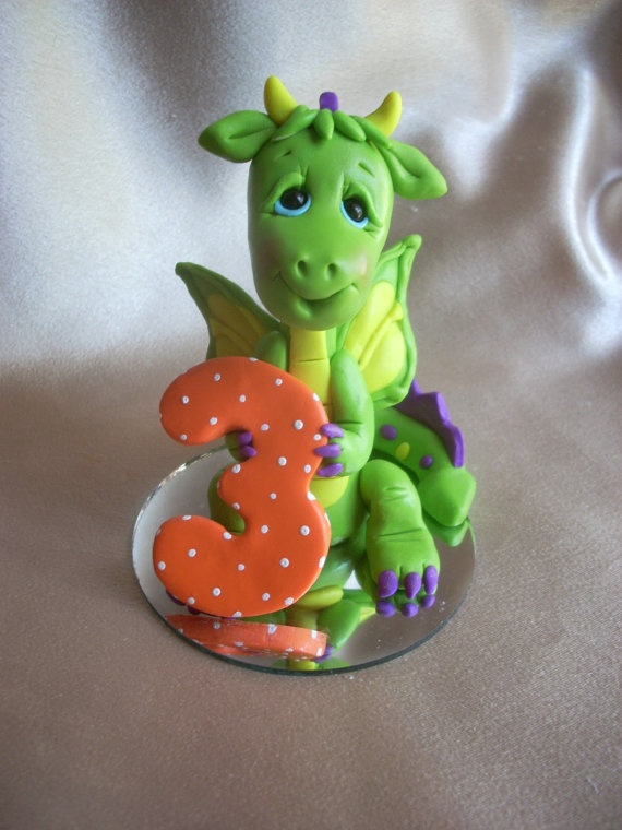 Clay Art Cake Decoration : 96 best Dort dinosau?i a draci images on Pinterest ...
