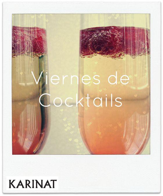 Viernes de Cocktail con Frutos Rojos Karinat! Cocktail Fridays with Berries Karinat!