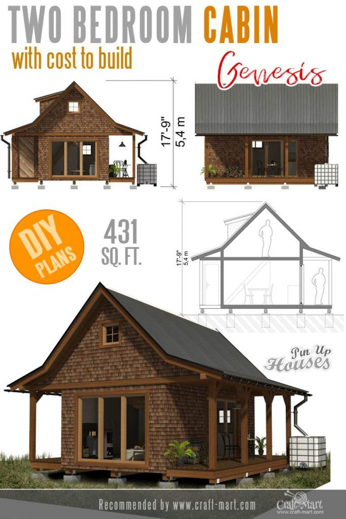 Awesome Small And Tiny Home Plans For Low Diy Budget With Images Small House Plans Small House Floor Plans Small House