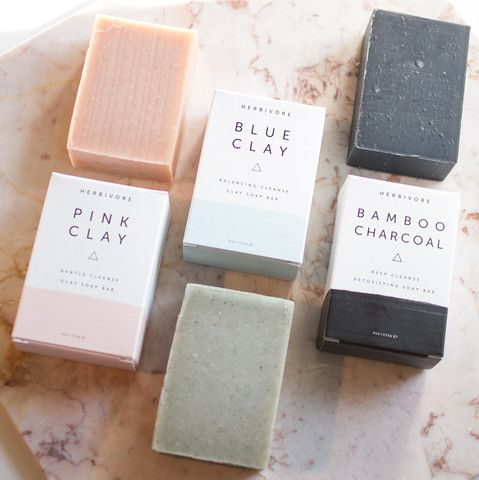 Soap was the very first product Herbivore created, and we still hold it near and dear to our hearts for good reason: Our soaps are made with pure botanical oils, luxe mineral clays, and therapeutic essential oils — all-natural ingredients that not only cleanse but help your naturally gorgeous skin shine through.