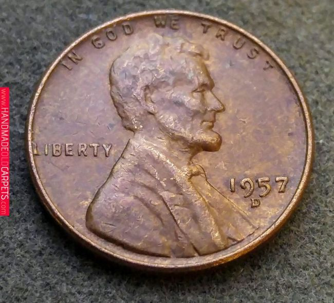 1957 d wheat back penny value