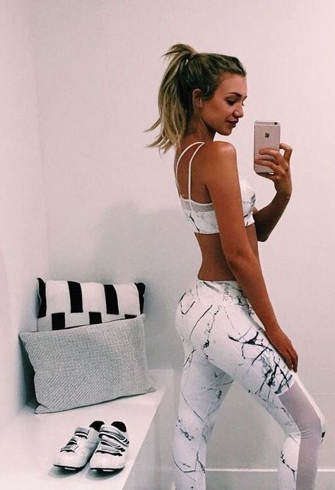 cute workout clothes might actually make me want to workout