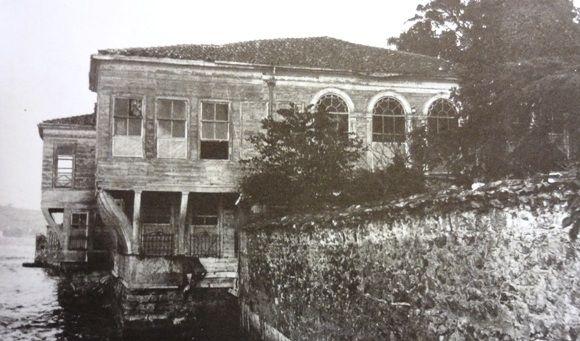 Ahmet Fethi Paşa Yalısı selamligi_1930