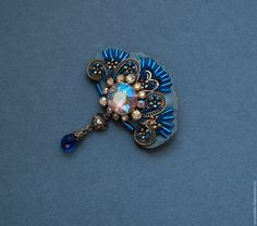 Brooches handmade. Livemaster - handmade. Buy brooch with beadwork