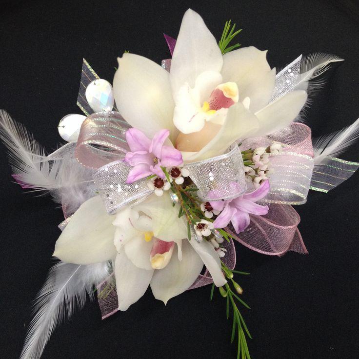 Cymbidium Orchid Wrist Corsages: 34 Best Corsages Images On Pinterest