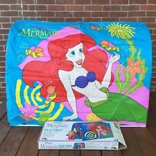 Vintage 1990s THE LITTLE MERMAID Slumber Play Tent ERO Rare HTF Complete w/Box : little mermaid tent - memphite.com