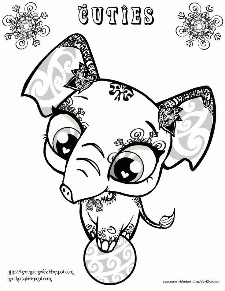 8 best coloring pages images on Pinterest Tattoo ideas, Wolf - best of coloring pages to print animals