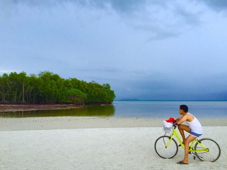 See you around, my future  -Sikas Beach- #bycycle #beach #nature #alone #adventure #travel #traveling #mangrove