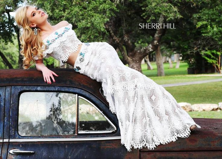 Totally Western wedding inspiration from Sherri Hill. Stay #WellHeeled with Solemates! https://www.thesolemates.com/our-products/: