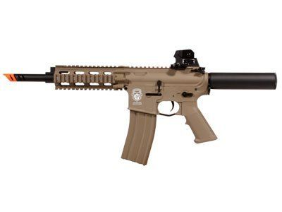 G&G GR16 CQW Wasp Blowback EBB Airsoft Gun, Desert airsoft gun by G&G Armament. $168.80. High Quality Plastic AEG of G&G Quad Weaver/Picatinny rail Monolithic top rail Removable rear sight Patriot battery stock Metal gearbox Adjustable hop-up ... G&G GR16 CQW Wasp Blow Back AEG Airsoft Gun, Desert Tan...