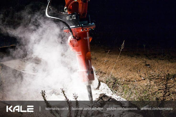 Kubota KM104 Hydraulic Breaker - Hidrolik Kırıcı; #kubota, #excavator, #Attachment  www.kalemakina.com.tr