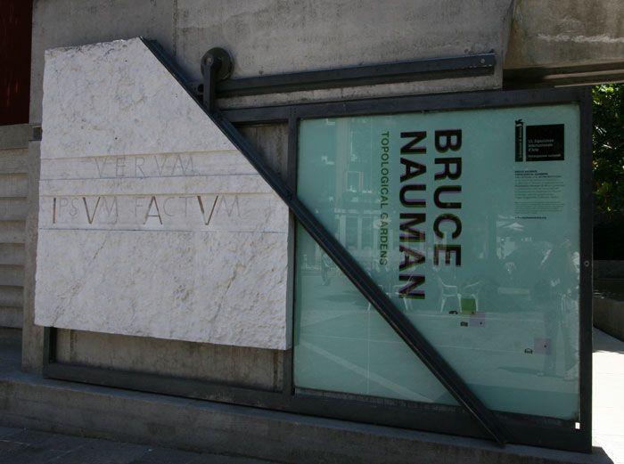 Ingresso all' IUAV [Istituto Universitario di Architettura di Venezia] / 1966-78 / Carlo Scarpa