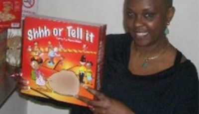A passionate business woman, educator and mother, Atiti Sosimi developed the idea for Shhh or Tell it