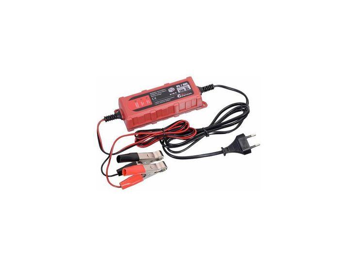 <p>Univerzální přenosná nabíječka akumulátorů 6 nebo 12V, napájení 230V, určeno pro akumulátory o kapacitě 4 - 120 Ah.</p>