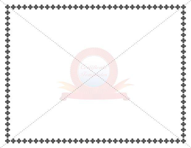 Certificate Borders Templates
