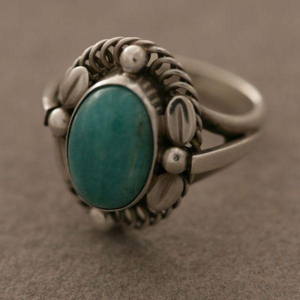 Amazonite Stone Ring