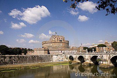 View of Castel Sant Angeleo © Morgan Capasso