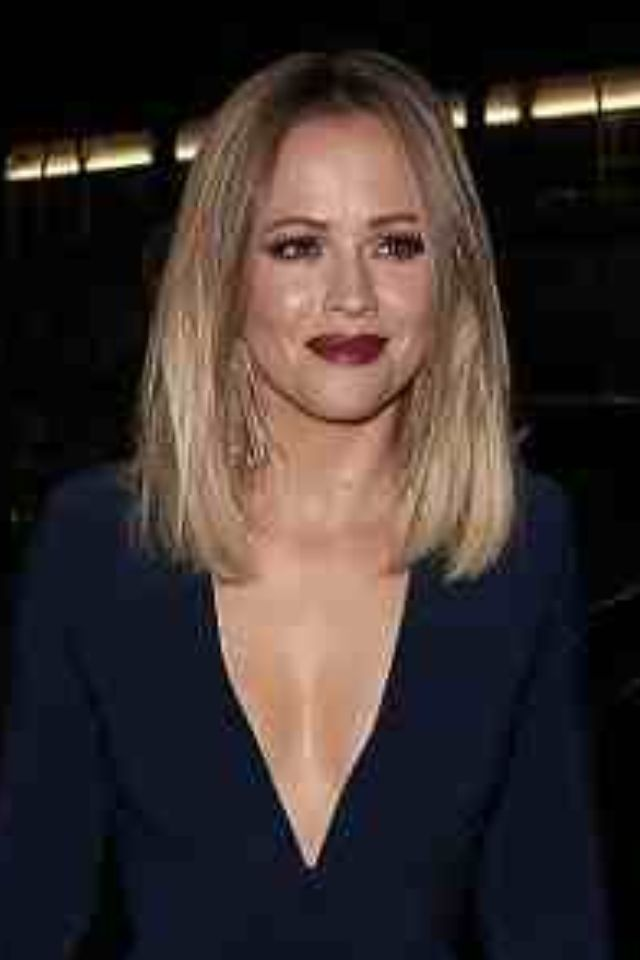 Kimberley Walshes gorgeous ombre bob. Next hairstyle for me!