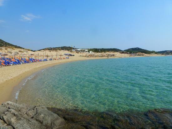 Ammolofoi beach, Nea Peramos, Kavala region, Greece