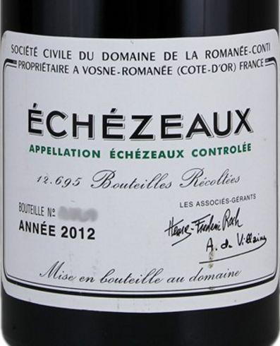 2012 Domaine de la Romanée-Conti Echezeaux