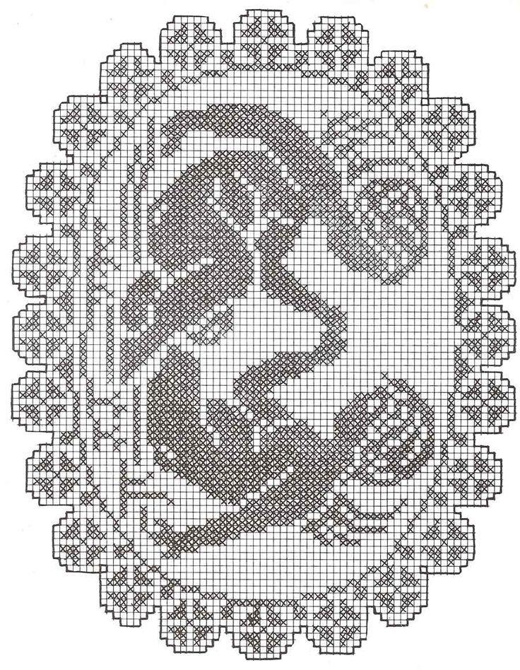 filet angeli | Hobby lavori femminili - ricamo - uncinetto - maglia