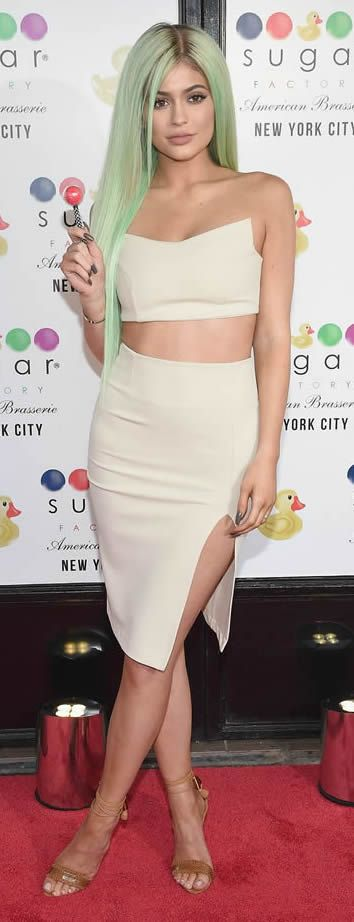 Style queen Kylie Jenner showed off her hair transformation in NYC