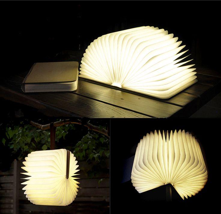 Woody Book Light