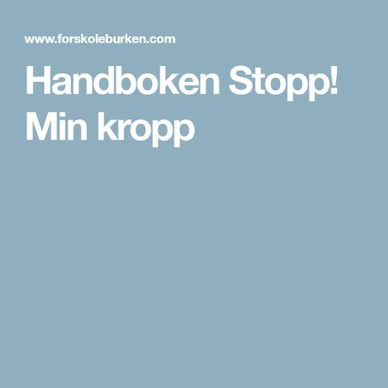 Handboken Stopp! Min kropp