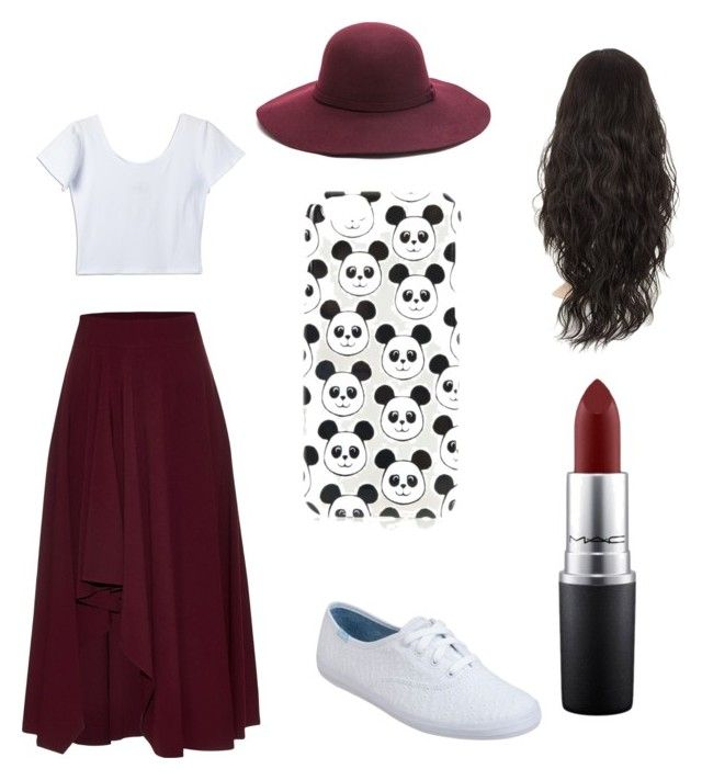 """""""Untitled #5"""" by xoxocloe ❤ liked on Polyvore featuring Alexander McQueen, Keds, Topshop and MAC Cosmetics"""