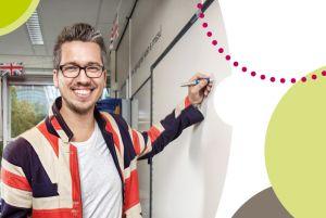 100 uithangborden - Veluws College Gijs Palsrok / Meester Gijs / Engels