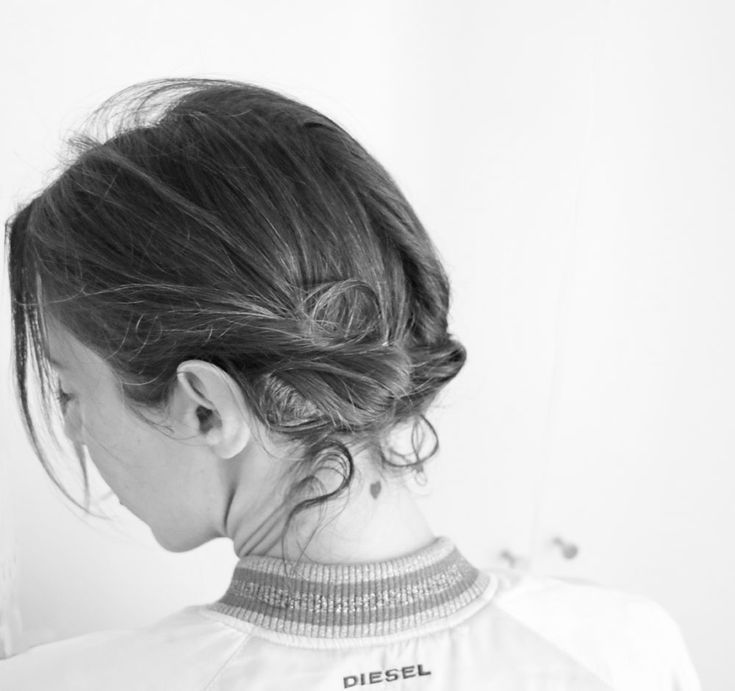 Hairstyle tutorial for those in a hurry: the double «Ödeldött – #der #double #Hairy #HairstylesTutorial # for