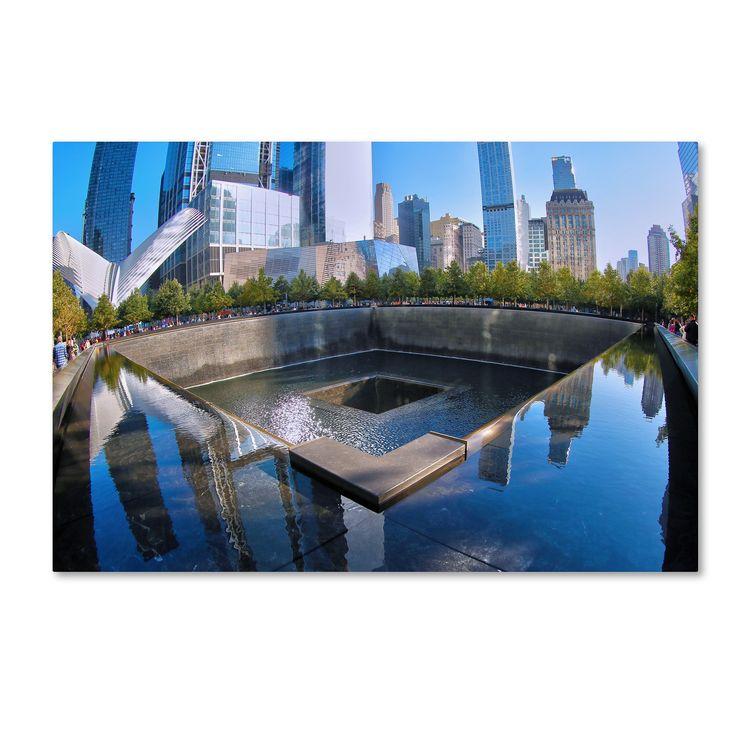 Trademark CATeyes '911 Memorial' Canvas Art