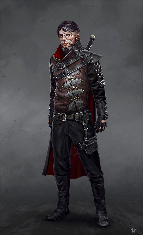 ArtStation - Assassin character face concept, Nagy Norbert