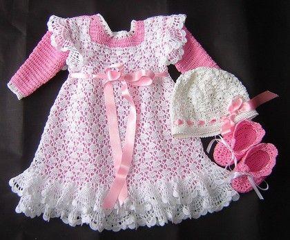 فساتين كروشية أطفال 2014 Crochet: 2014 Crochet, Crochet Dresses, Crochet Pinafore, Crochet Children, Crochet Baby, Baby Crochet, Crochet Infant, Baby Dresses, Children Crochet