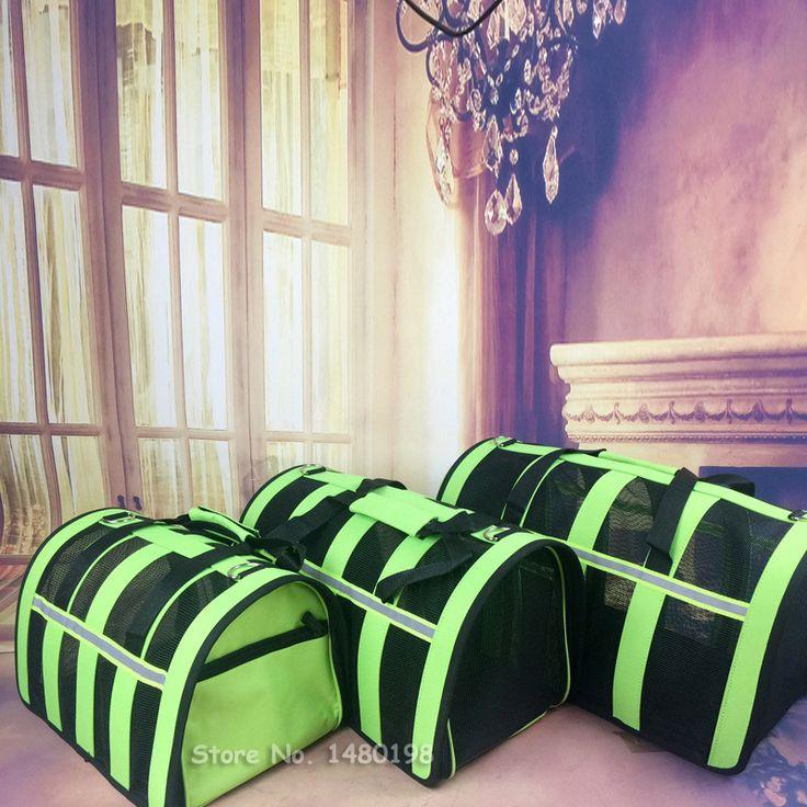 Novo 2015 hot portátil saco de cão para cães pequenos Malha Respirável transportadora para animais de estimação saco de transporte para gatos Cinco cores Varejo Frete grátis!