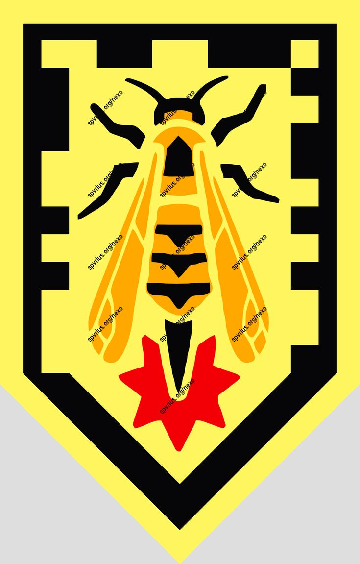 LEGO Nexo Knights Power Axl Wasp Missile