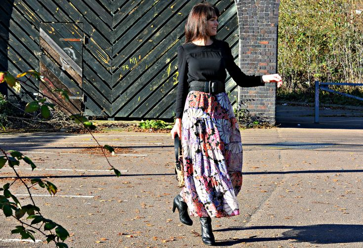 HOW TO UPDATE A BOHO MAXI SKIRT
