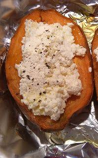 Ada w kuchni: Bataty zapiekane z  kozim serem