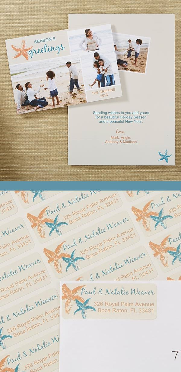 Christmas Cards With Matching Address Labels 17 Best Images About ...