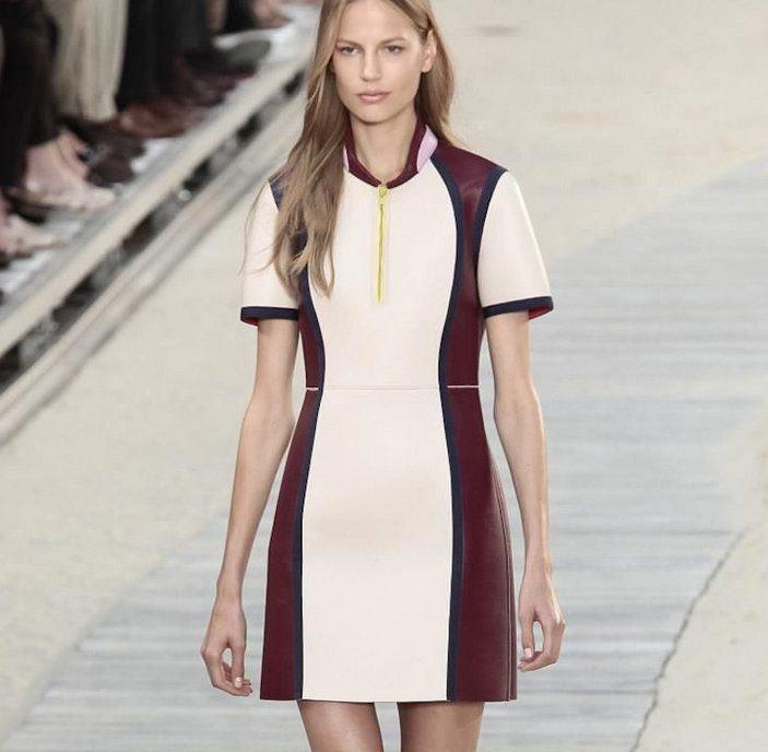A New York Tommy Hilfiger immagina una Primavera Estate 2014 di Tinte sobrie e raffinate  #TommyHilfiger #Hilfiger #clothes #abbigliamento #springsummer #sfilata #vestiti