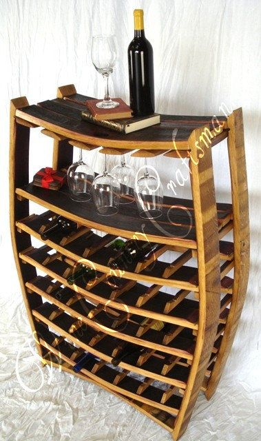 WINE RACK Chablis Large Wine Barrel Rack with
